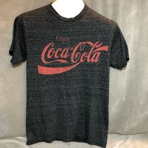 Coca-Cola Dark Gray Heathered T-shirt Size Small